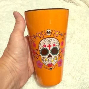Other - Ceramic Tall Mug Cup Sugar Skull Day of the Dead